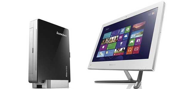 Lenovo показала компьютер IdeaCentre Q190 HTPC и моноблоки C-серии