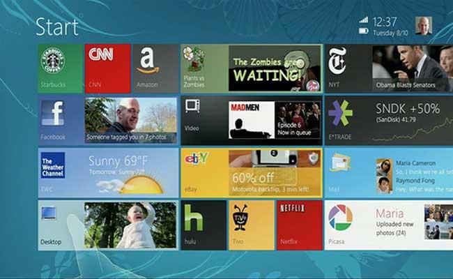 Microsoft рассказала об истории создания интерфейса Windows 8