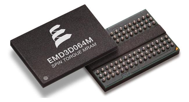 Everspin начала выпуск первых чипов памяти ST-MRAM