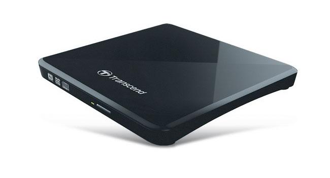 Transcend выпустила тонкий портативный пишущий CD/DVD привод