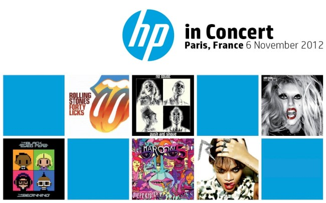 Hewlett Packard и Universal Music запустили музыкальный сервис HP Connected Music