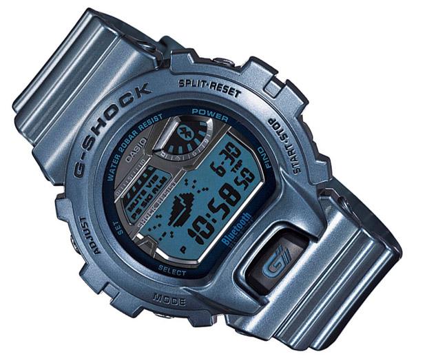 Casio выпустила совместимые с iPhone наручные Bluetooth-часы G-Shock GB6900
