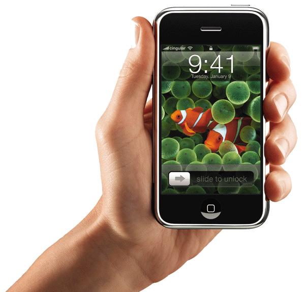 Apple получила патент на дизайн оригинального iPhone