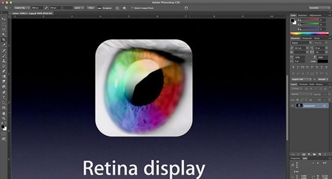 Adobe добавила поддержку Retina в Mac-версии Photoshop и Illustrator