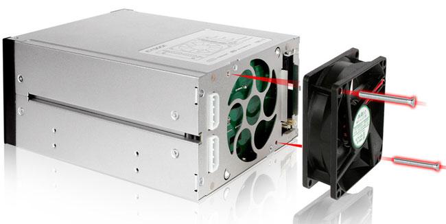 Icy Dock анонсировала бокс для трех 3,5-дюймовых накопителей FlexCage MB973SP-1B