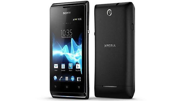 Sony анонсировала доступный смартфон Xperia E
