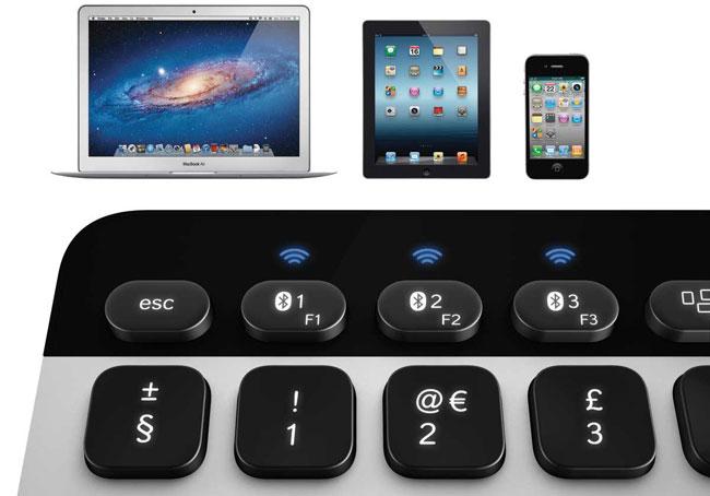 Logitech анонсировала клавиатуру и тачпад для компьютеров Apple