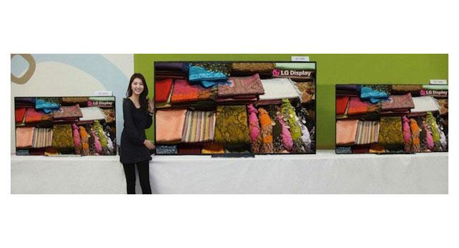 LG Display анонсирует на CES 2013 дисплеи нового поколения