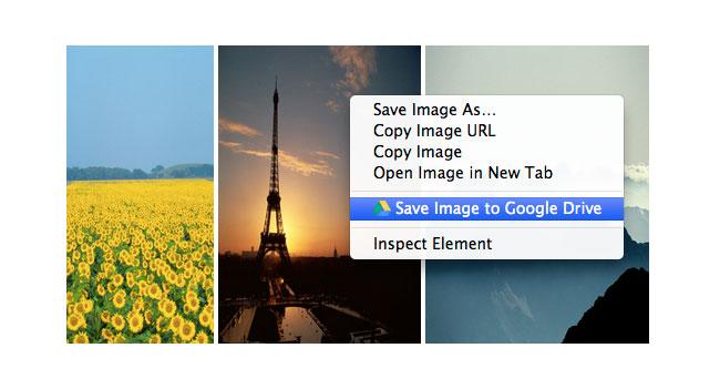Расширение для Chrome позволяет сохранять контент в Google Drive