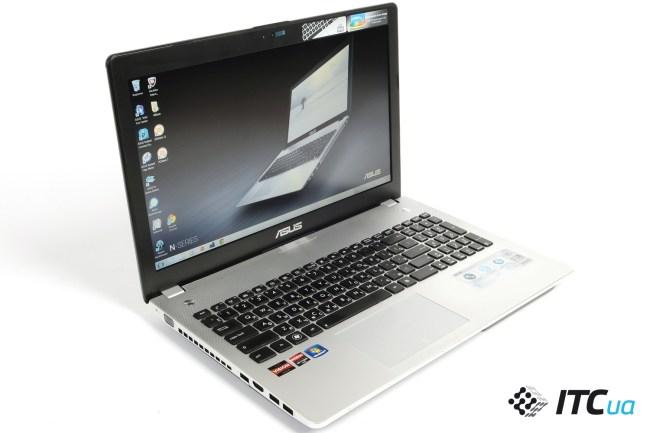 Обзор ноутбука ASUS N56