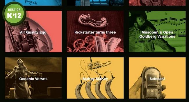 Kickstarter 2012: игры, фильмы, спутники и роботы