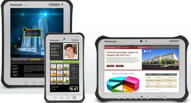 Panasonic представил пару защищенных планшетов Toughpad на Windows 8 Pro и Android 4.0