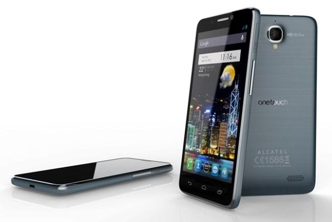 Alcatel One Touch Idol - самый легкий смартфон с 4,7-дюймовым дисплеем