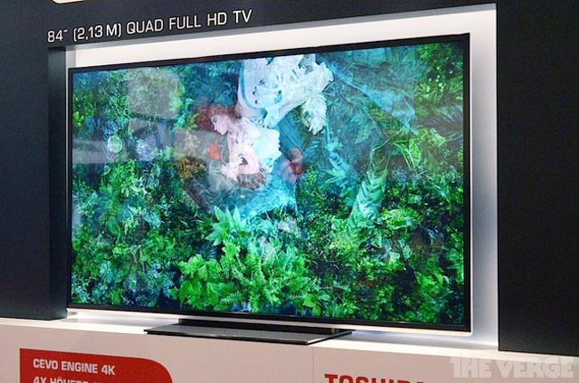 """Новая линейка телевизоров Toshiba: 84"""", 4K, Cloud TV"""