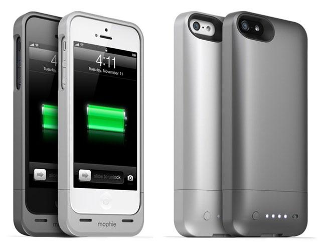 Mophie представила аккумуляторный чехол для iPhone 5