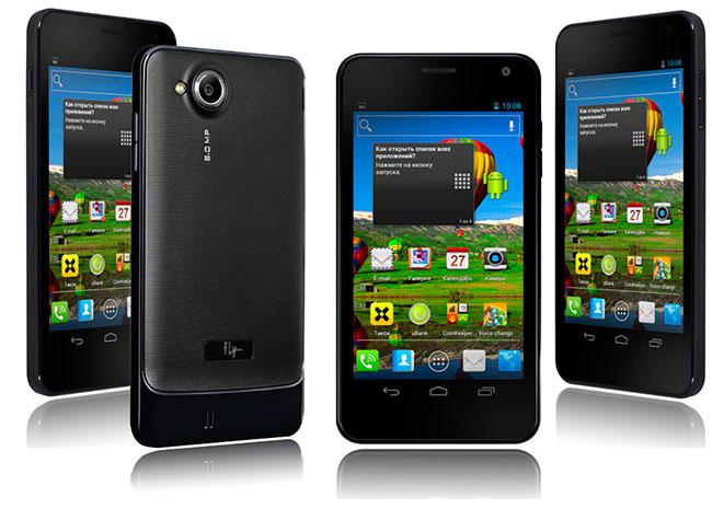 Смартфон Fly IQ444 Diamond с дисплеем Super AMOLED HD попадет в Украину до конца недели