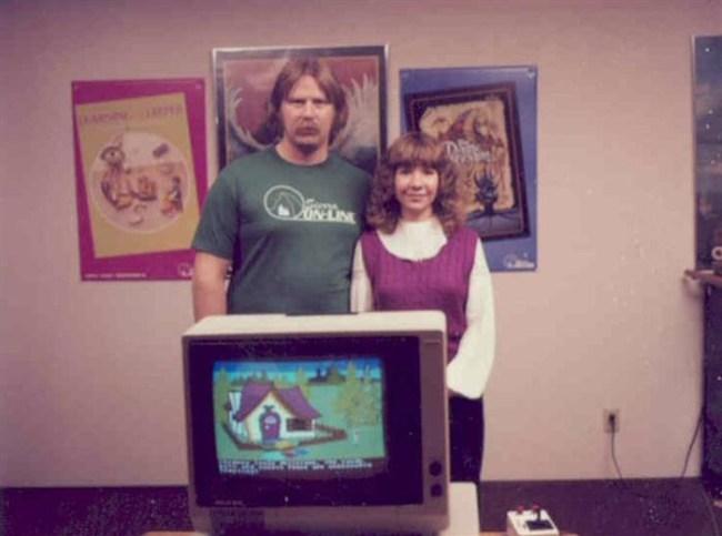 Кен и Роберта Вильямс – с King's Quest на первом плане