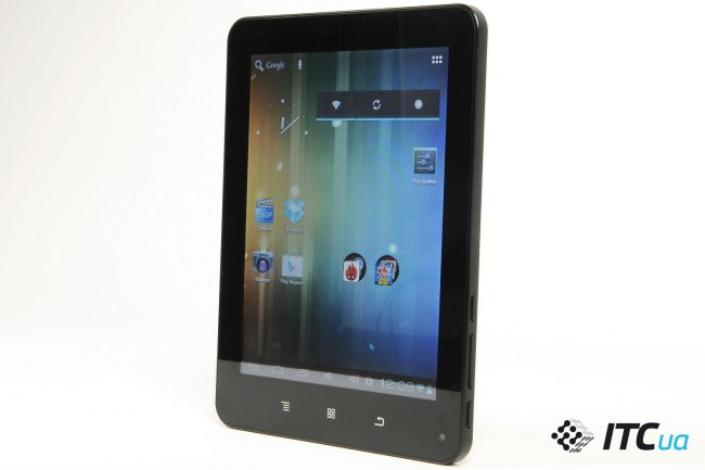 Обзор планшета Globex GU802