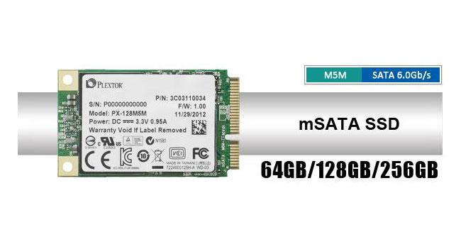 Plextor выпустила SSD M5M для ультратонких ноутбуков