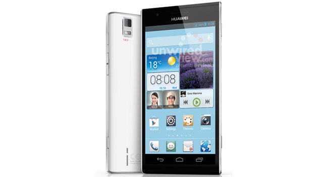 Huawei покажет на MWC 2013 смартфоны Ascend P2 и Ascend P2 Mini