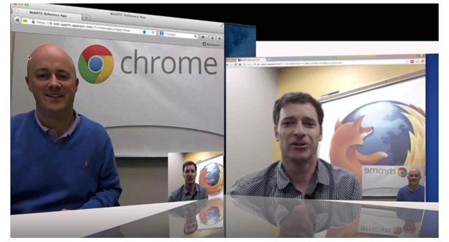 Google и Mozilla устроили видеочат при помощи браузеров с поддержкой WebRTC