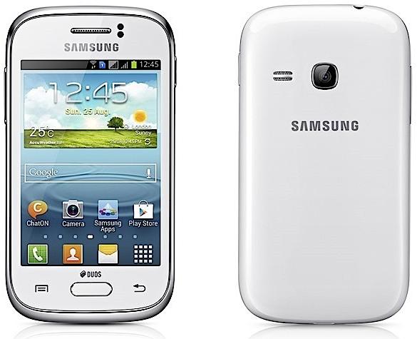 Samsung Galaxy Young и Fame - бюджетные смартфоны с Android 4.1