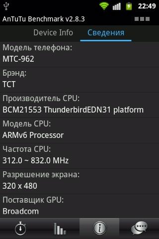 Чип Broadcom Thunderbird – один из немногочисленных представителей поколения ARM11, который до сих пор применяется в Android-смартфонах