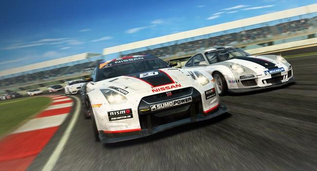 Real Racing 3: гонки по замкнутому кругу