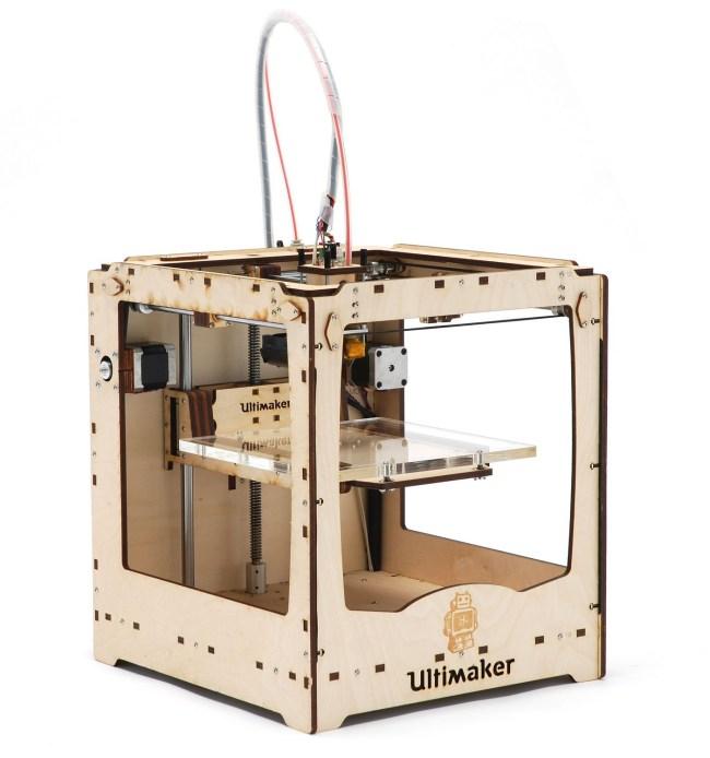 Ultimaker (ultimaker.com) – потребительский 3D-принтер стоимостью €1200