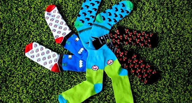 Sammy Icon 8bit – украинские носки на Kickstarter