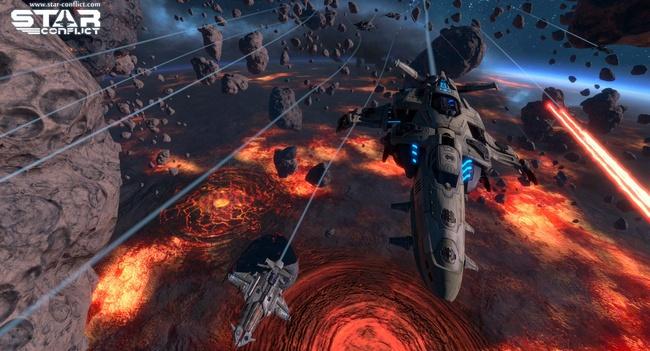 Star Conflict: «мирный» далекий космос