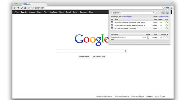 Плагин BitTorrent Surf трансформирует Chrome и Firefox в BitTorrent-клиент