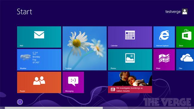 В Windows 8.1 улучшена многозадачность для приточного интерфейса и добавлен файловый менеджер