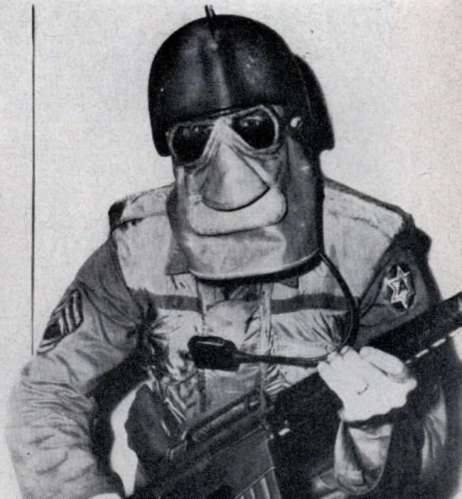 Во времена «холодной войны» (1959 год) военные инженеры США разработали боекомплект Future G.I. для ведения боевых действий в условиях радиоактивного загрязнения
