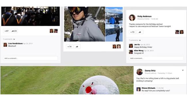 Google I/O: соцсеть Google+ подверглась редизайну