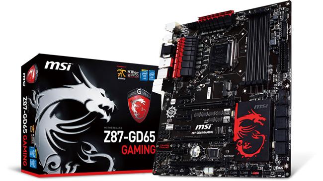 MSI выпустила игровые и орерклокерские материнские платы на базе чипсета Intel Z87 Express