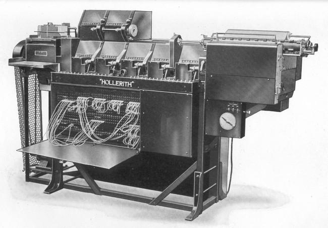 Табулятор IBM Hollerith Type III