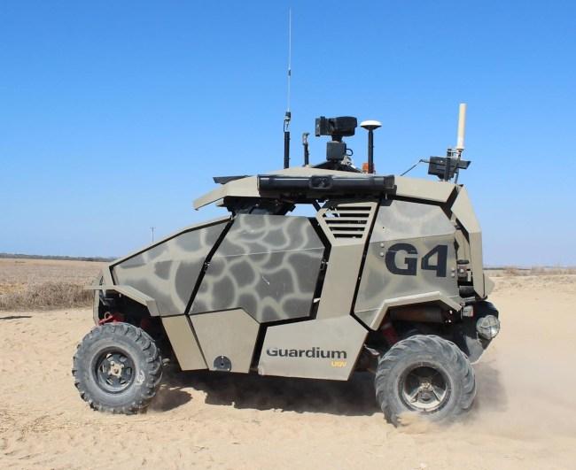 Беспилотный автомобиль Guardium