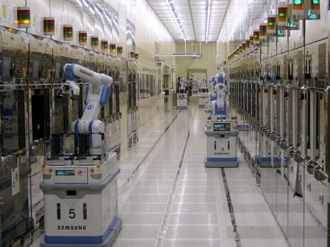 Производственные линии Samsung