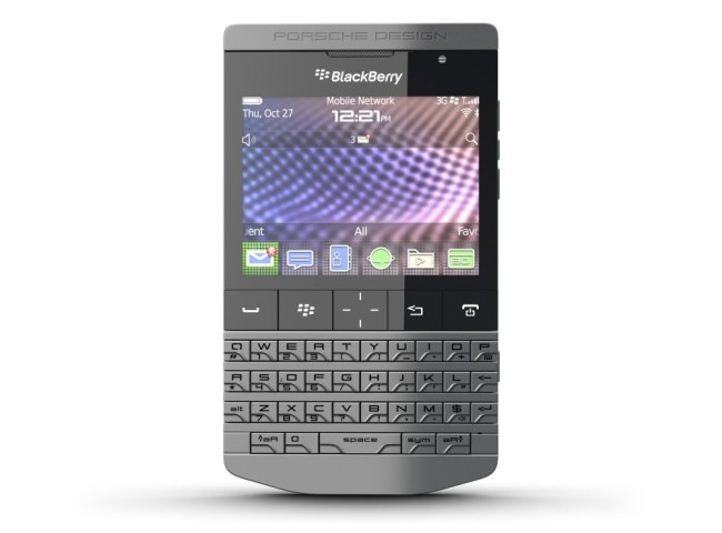 Смартфон BlackBerry Porsche Design P9981