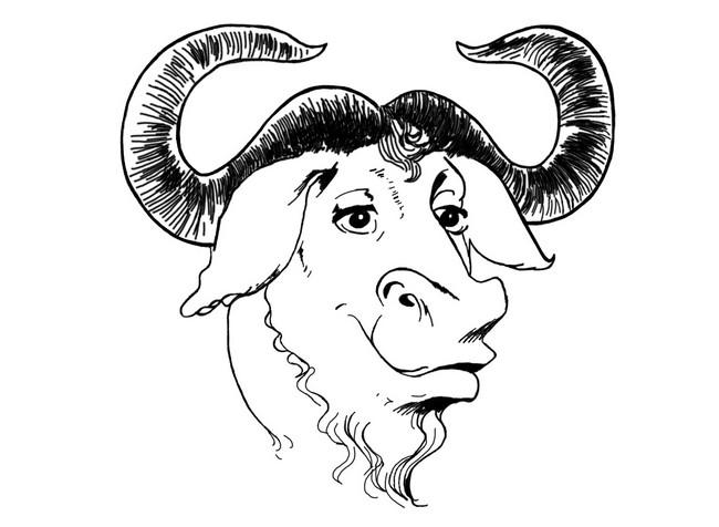 Антилопа гну – символ проекта GNU