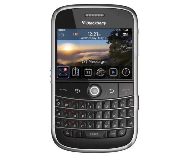 BlackBerry Bold 9000 – первый смартфон RIM с навигационным модулем GPS