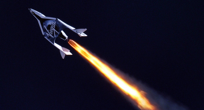 Virgin Galactic провела очередное успешное испытание космического челнока SpaceShipTwo