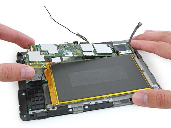 iFixit: планшет Kindle Fire HDX 7 плохо приспособлен для ремонта
