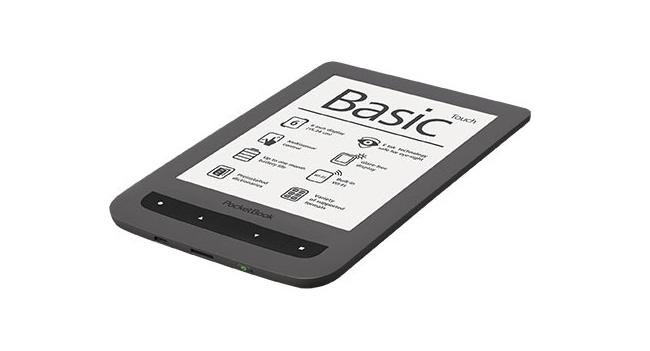 В Украине начинаются продажи ридера PocketBook Basic Touch