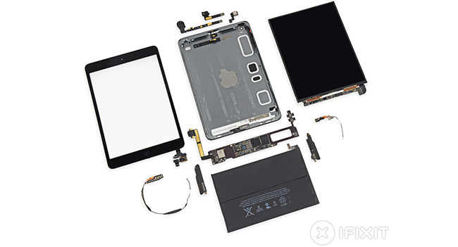 iFixit: планшет Apple iPad Mini с дисплеем Retina почти не пригоден для ремонта