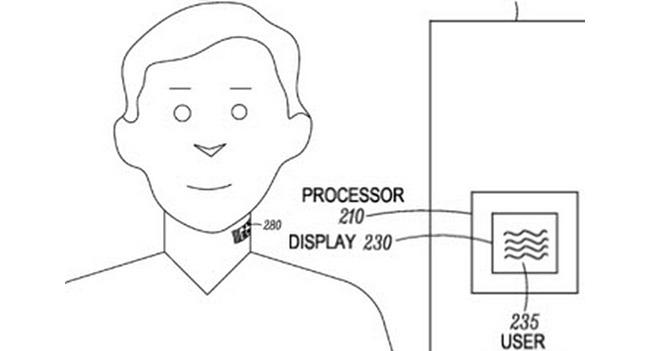 Motorola запатентовала носимое на коже гортани устройство с микрофоном и дополнительными компонентами