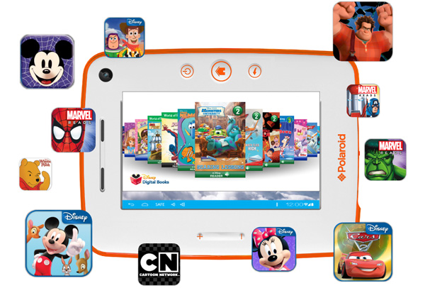 Polaroid начинает продажи новой версии детского планшета - Kids Tablet 2