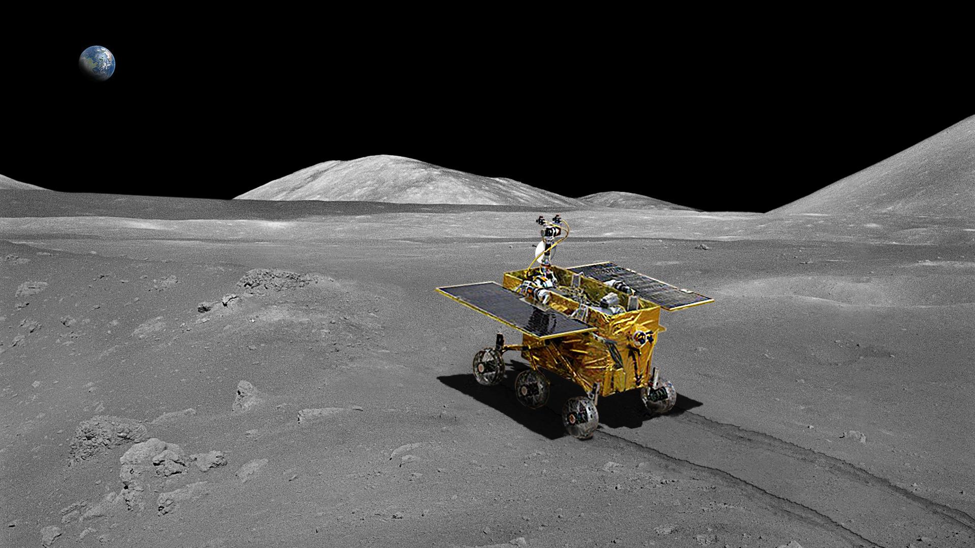паспарту вся фото лунохода на луне может