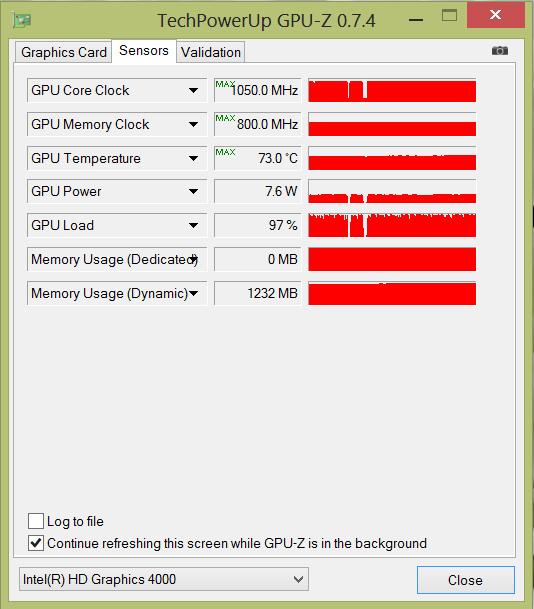 Dell_XPS_18_GPU-Z_nagrev
